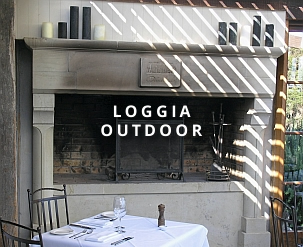 Loggia Outdoor Fireplace designs