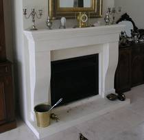 French inspired design hand carved in Oamaru Limestone
